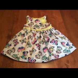 Cherokee 18 month butterfly dress